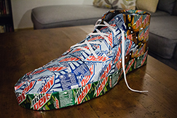 Mt. Dew Shoe